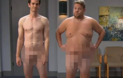 Watch Andrew Garfield and James Corden's NSFW GoT Audition