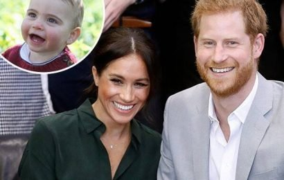 Read Meghan Markle and Prince Harry's Birthday Message to Prince Louis