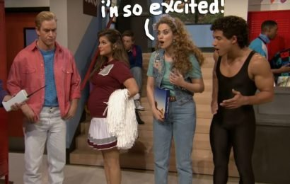 'Saved By The Bell' Cast Reunited For Dinner & We're SO Excited!
