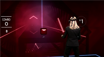 Brie Larson Takes On 'Beat Saber' With Jimmy Fallon