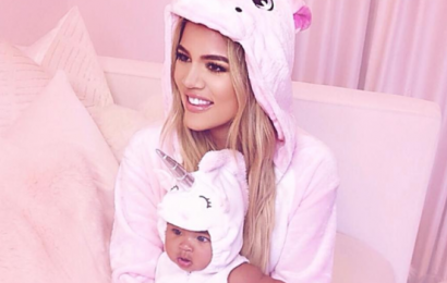 This Video of Khloé Kardashian Teaching Baby True About Self-Love Is the Pep Talk We All Need