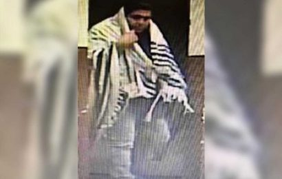 Yeshiva thief covered himself with prayer shawl during break-in: cops