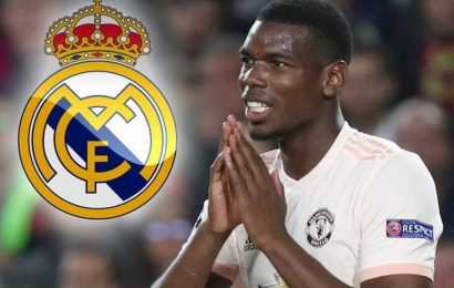 Pogba 'tells Man Utd team-mates he wants transfer in summer and club will NOT stand in way of Real Madrid move'