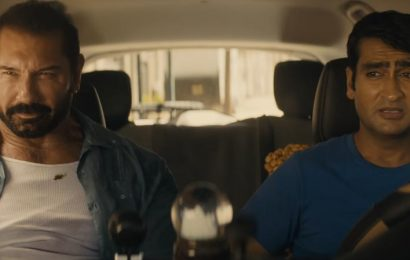 'Stuber' Trailer: Dave Bautista Isn't the Easy Uber Passenger Kumail Nanjiani Was Hoping For