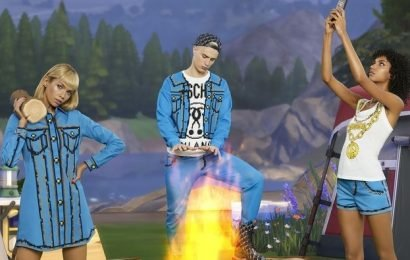 The Sims Go High Fashion With a Moschino Collaboration