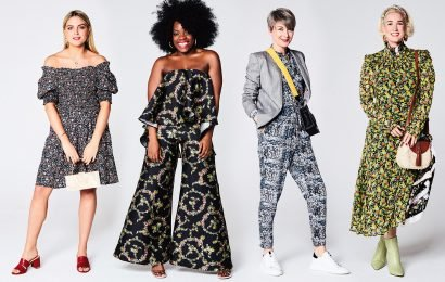 Our fashion team show off their pick of the bunch of the high street's floral outfits