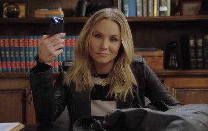 Taser-Toting Kristen Bell Teases Return of 'Veronica Mars'