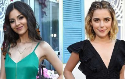 Kiernan Shipka & Victoria Justice Start Their Coachella Weekend With Rachel Zoe!