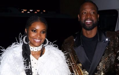 Dwyane Wade Celebrates Retirement with Gabrielle Union at Disco-Themed Party!