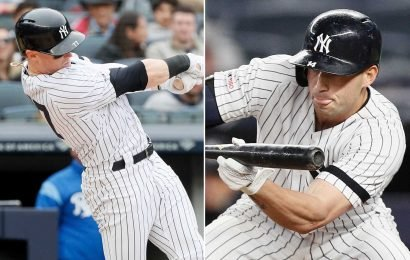 The Yankees' starting lineup is startling