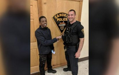 Police officer drives man to job interview after pulling him over at traffic stop