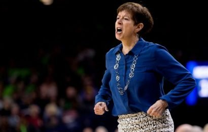 Notre Dame coach Muffet McGraw explains the need for more women in power roles