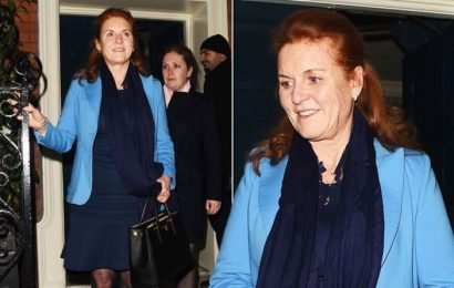 Sarah Ferguson out until 1:30am after claims she and Prince Andrew are 'back together'