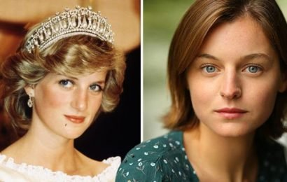The Crown season 3 cast: Princess Diana to be played by Grantchester star Emma Corrin