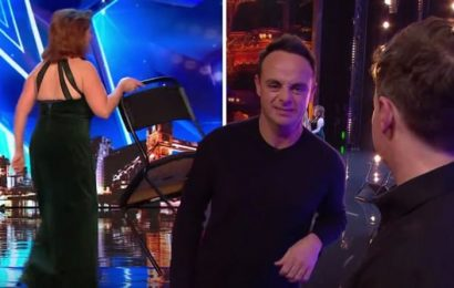 Britain's Got Talent 2019: Ant and Dec stunned as contestant THROWS chair across stage