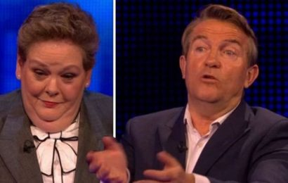 The Chase: 'What's the matter with you?!' Bradley Walsh SHUTS DOWN Anne Hegerty