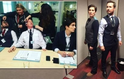 Line of Duty: Steve Arnott actor Martin Compston shares behind-the-scenes snaps