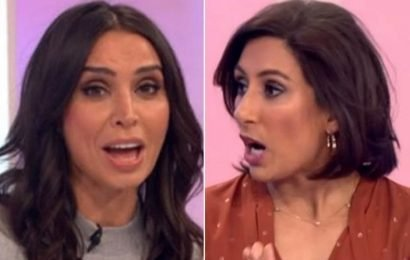 Loose Women turns raunchy as panellist strips NAKED on air