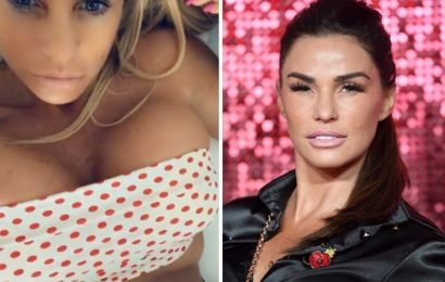 Katie Price gets fans hot and bothered with RISQUÉ bikini video: 'Smashing it!'