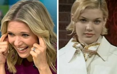 GMB's Charlotte Hawkins is unrecognisable in throwback modelling snaps