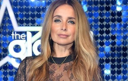 Louise Redknapp flaunts killer pins in devilish thigh-grazing miniskirt