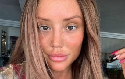 Charlotte Crosby lays herself bare with makeup free snap: 'Cutie'