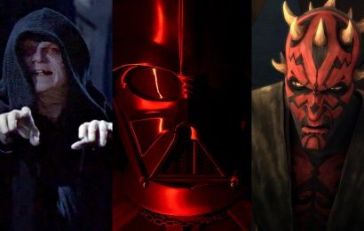 How Palpatine, Darth Maul and Vader Dominated Star Wars Celebration