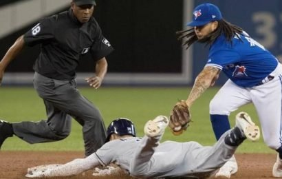 Meadows, Lowe power Rays over Blue Jays
