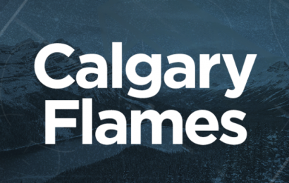 Flames top Sharks 5-3, clinch conference, division crowns