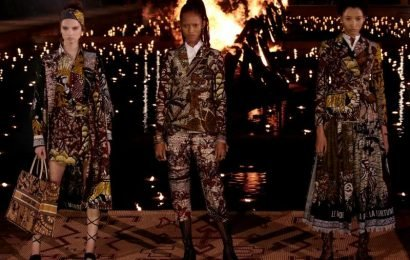 Dior lights up Marrakech with fashion show and floating candles
