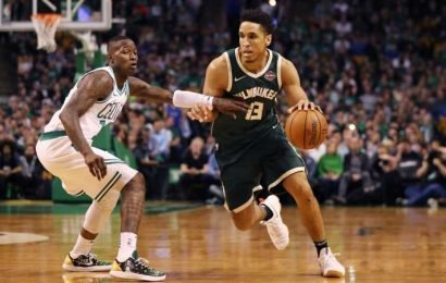 The Bucks Will Be Without Malcolm Brogdon To Start The Celtics Series, Which Frankly Is Bullcrap
