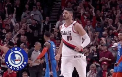 Enes Kanter Saved The Blazers From Getting Swept For A Third Straight Year
