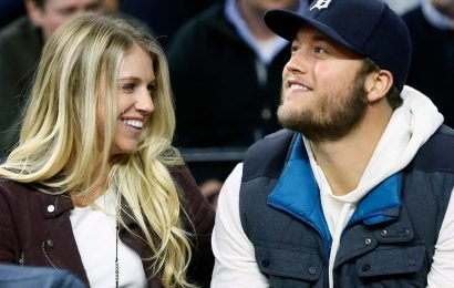 Matthew Stafford's Wife Kelly Announces She's Having Surgery For A Brain Tumor