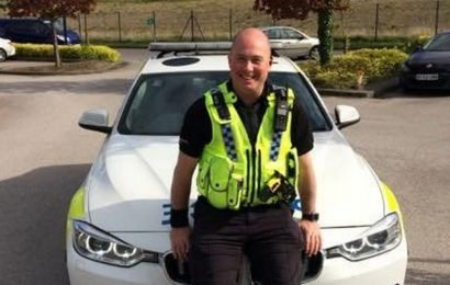 Police officer lost control of car at 103mph before crash killed him and woman