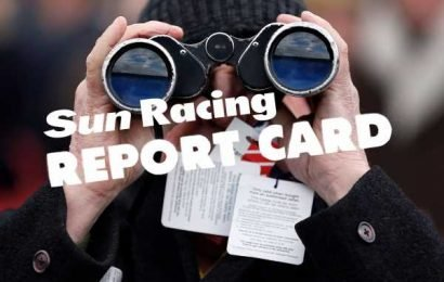 Racing Report Card: A horse for the tracker, gambles gone astray and a star performer in the making on Friday