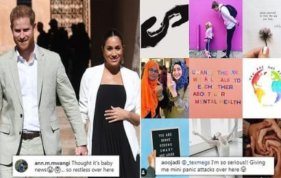 Royal fans eagerly awaiting the birth of Baby Sussex get impatient
