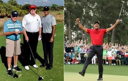 Woods 'accepts Trump invitation to White House to celebrate Masters'
