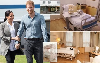 Inside the luxury private hospital where 'Meghan had £15,000 birth'