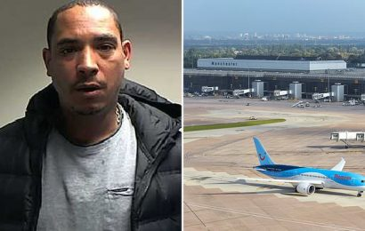 Abusive passenger who tried to open a plane door mid-flight jailed
