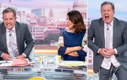 Piers Morgan experienced pain of labour through a simulation machine