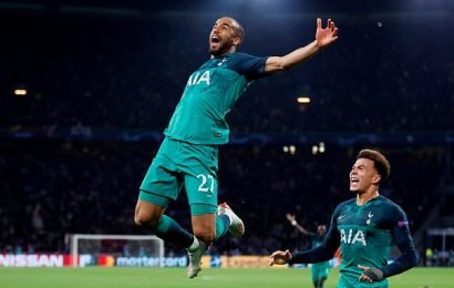 Ajax 2-3 Tottenham (Agg 3-3): Spurs to face Liverpool in final