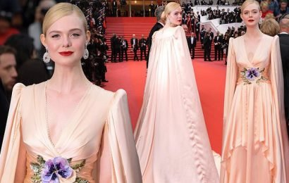Elle Fanning stuns at the Cannes Film Festival opening ceremony