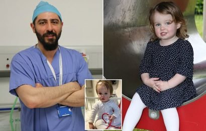 How surgeon's self-made device removed brain tumour