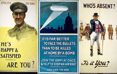 Fascinating First World War recruiting posters go up for auction