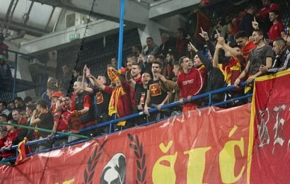 Montenegro lose appeal against playing next match behind closed doors
