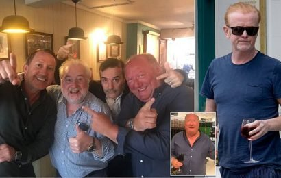 Chris Evans and pals thrown out of pub over 'highly offensive' comment