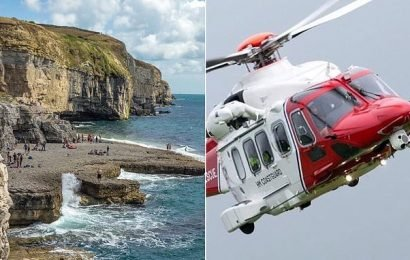 Climber dies and 12 people are injured in 'coasteering' accident