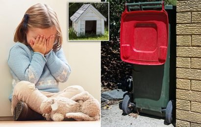 Mum made girls eat from bins and sleep in a dog kennel
