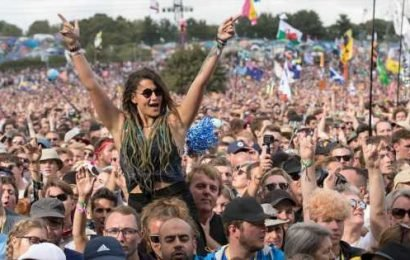 Glastonbury festival announces full lineup and stage times