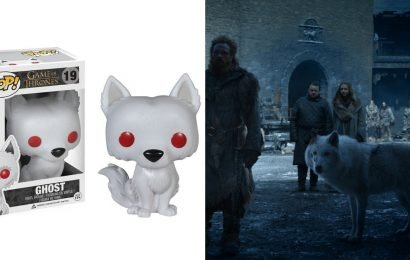 Show This Funko Pop Direwolf All the Love Jon Snow Should Have Given Ghost